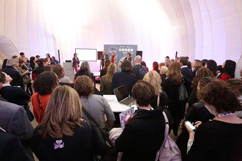 Fotografia Presentación Galicia MICE en la Ibtm World