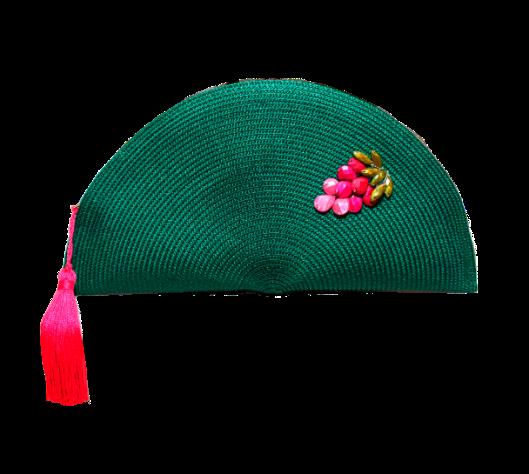 Fotografia verde y rosa