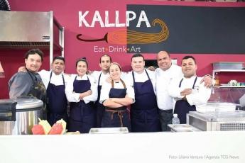 chef del restaurante kallpa en italia