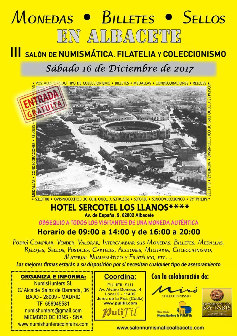 Fotografia Cartel del Salón Nacional de Numismática, Filatelia y