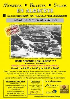 Cartel del Salón Nacional de Numismática, Filatelia y Coleccionismo