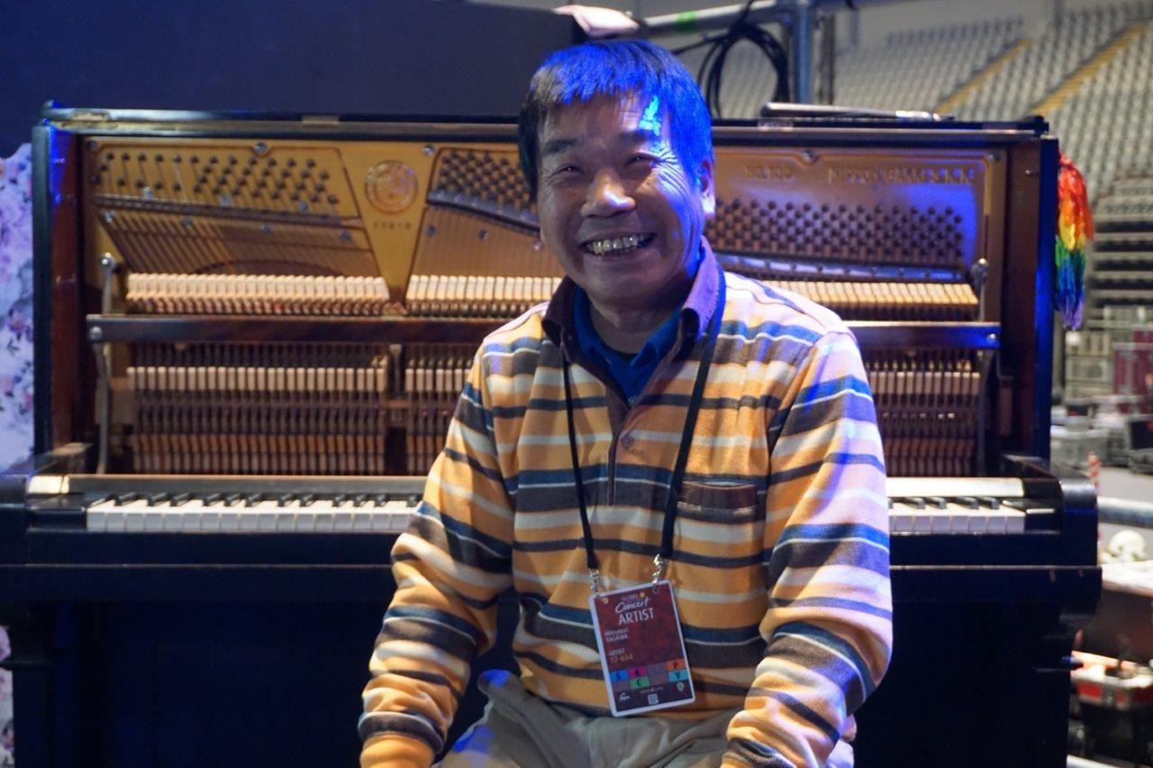 Fotografia Yagawa Mitsunori y Piano Hibaku