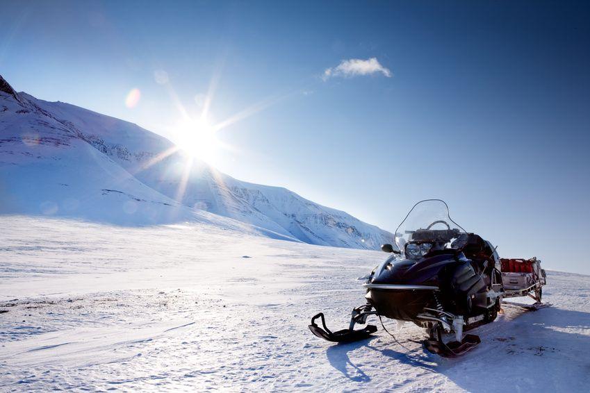 Fotografia Regalos de Navidad - Motos de nieve