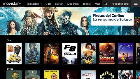 Movistar+ disponible para Shield TV