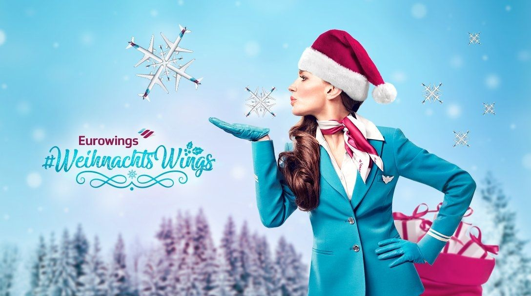 Las navidades llegan a Eurowings