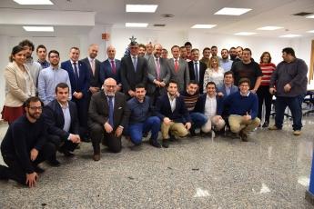 Inauguración del nuevo Centro Tecnológico de Serbatic en Cuenca