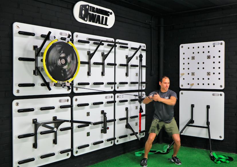 Entrenamiento inercial de fuerza con SpinWall de Training Wall