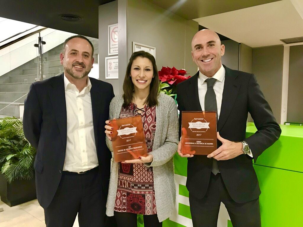 El Grupo CEF.- UDIMA, Premio a la Excelencia Educativa 2017 EducaEdu