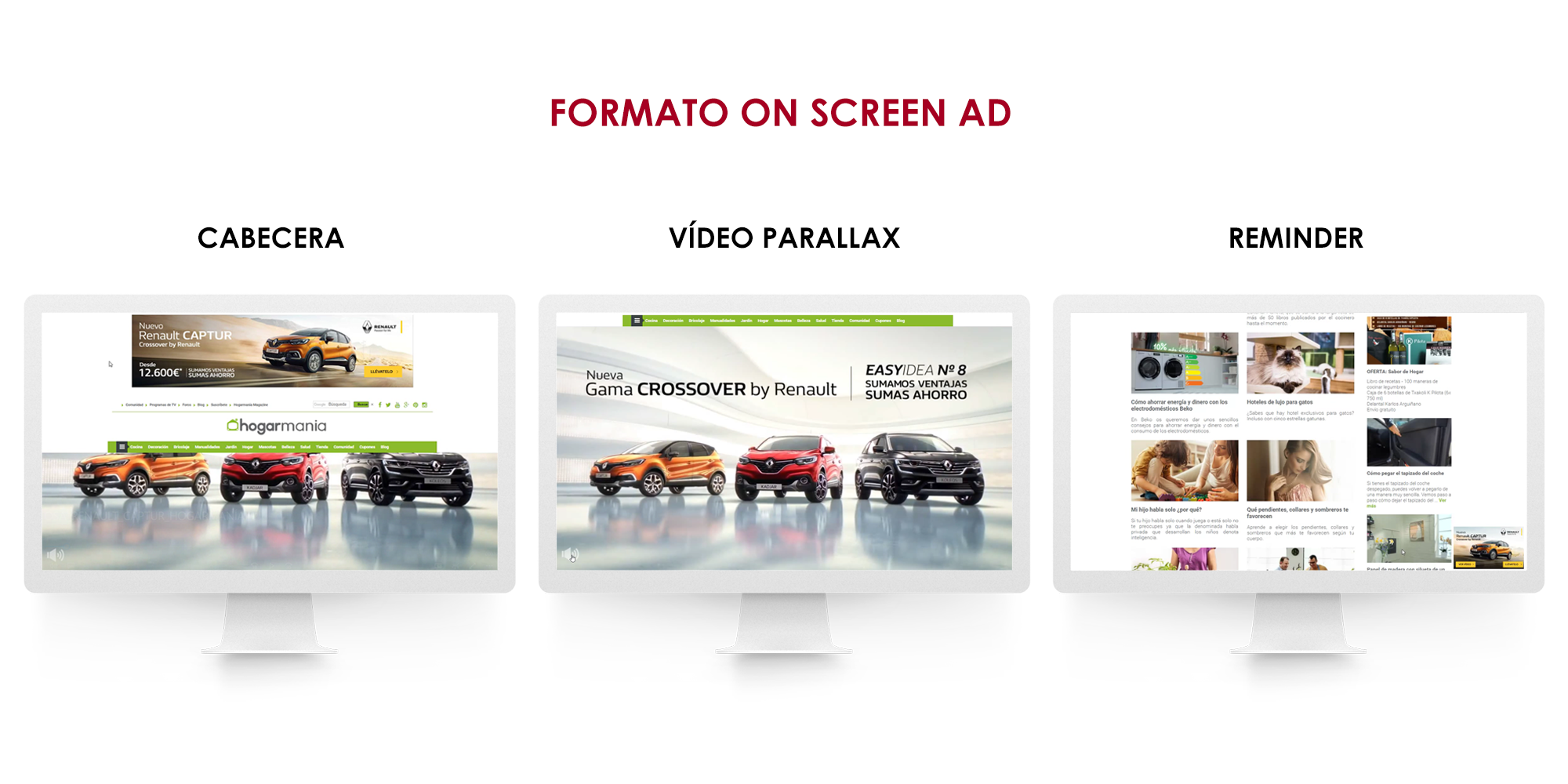 Fotografia Formato On Screen Ad