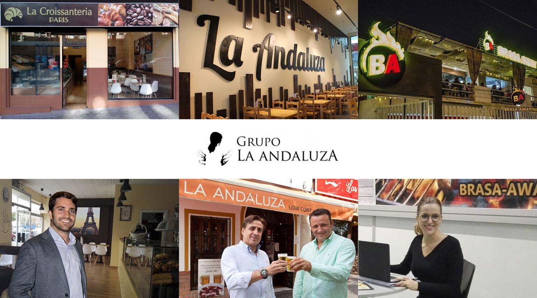 Las franquicias La Croissanteria Paris y Brasa Away se integran en el Grupo La Andaluza