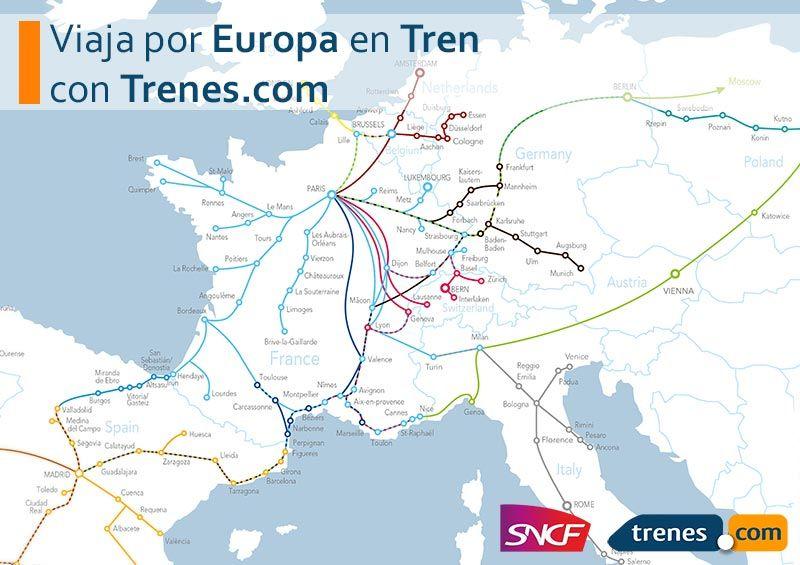 Fotografia Viaja por Europa con Trenes.com