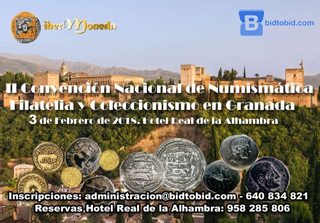 Fotografia Cartel II Convención Nacional de Numismática, Filatelia