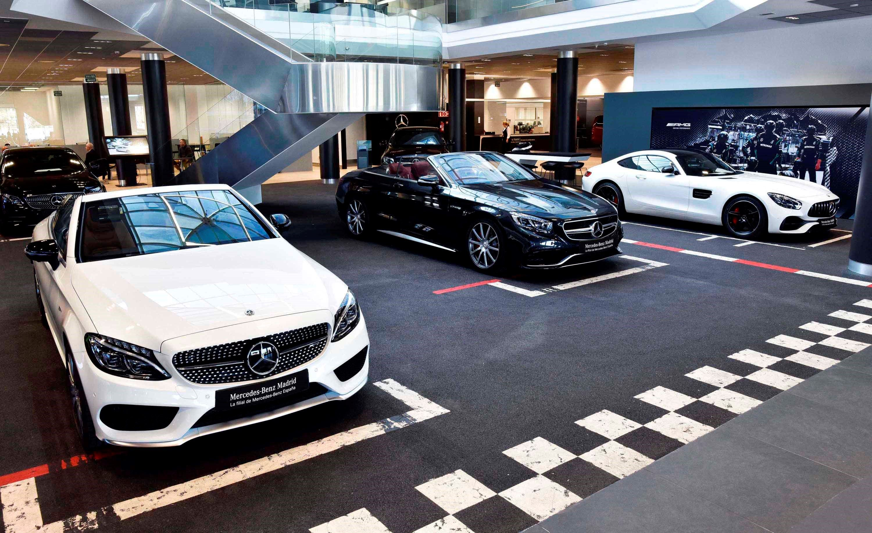 Fotografia Mercedes-Benz Madrid Flagship Store AMG Performance Center