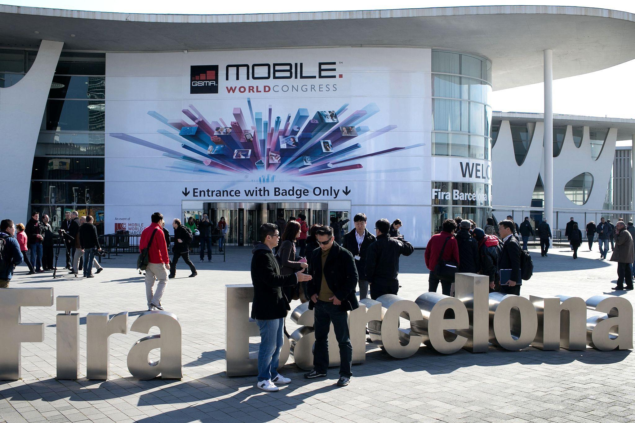 Fotografia Mobile World Congress