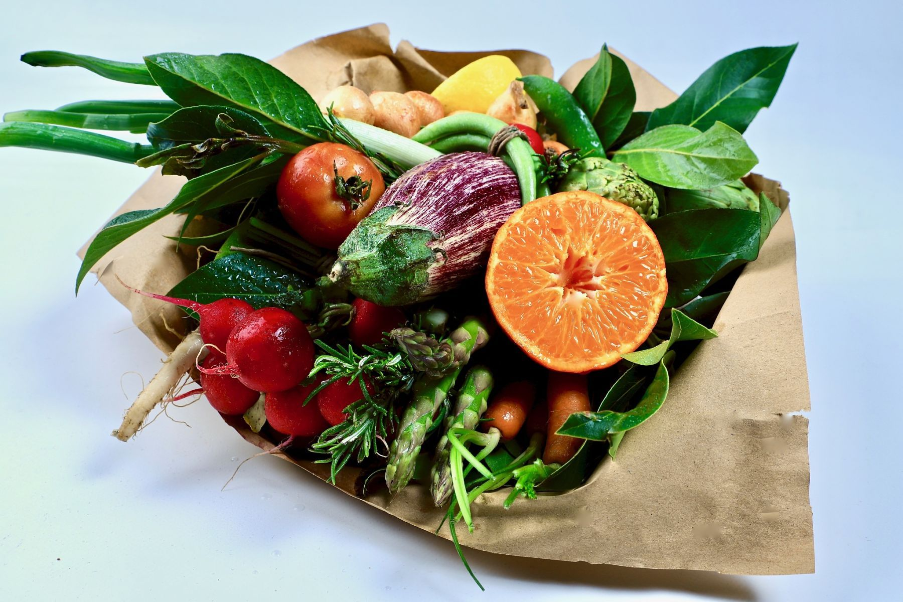 Fotografia ramo de hortalizas