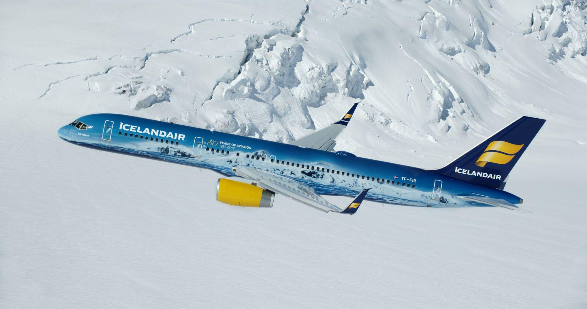 Fotografia Vatnajökull plane