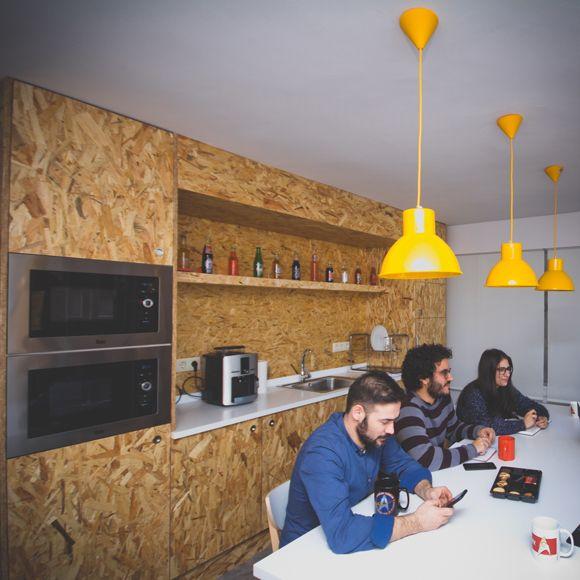Fotografia El equipo de Roi Scroll en las nuevas oficinas