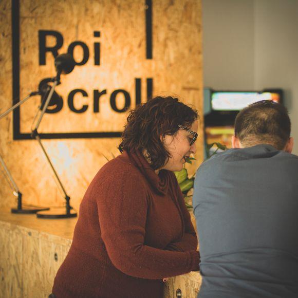 Fotografia El equipo de Roi Scroll en las nuevas oficinas en Vigo