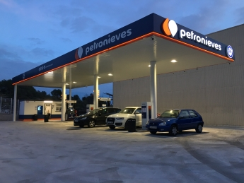 Gasolinera Petronieves Sitges