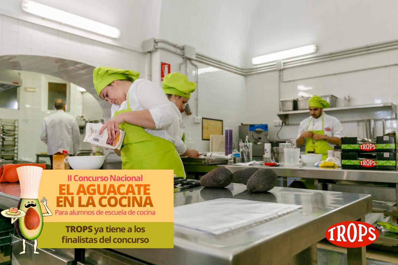 TROPS ya tiene a los 12 finalistas del II Concurso Nacional ?El Aguacate en la Cocina?