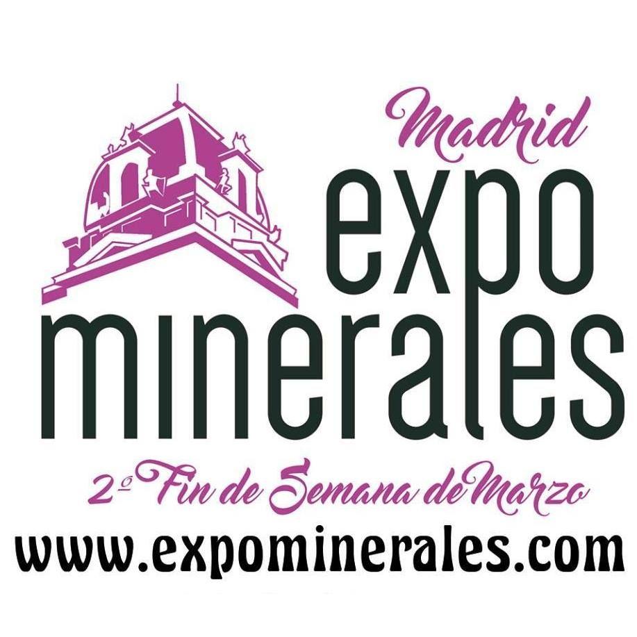 Fotografia Logo Expominerales Madrid 2018