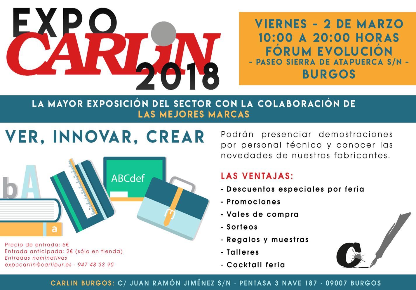 Carlin celebra en Burgos la Feria ?Expo Carlin 2018?