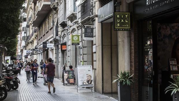 La franquicia representa el 30% del comercio en Valencia