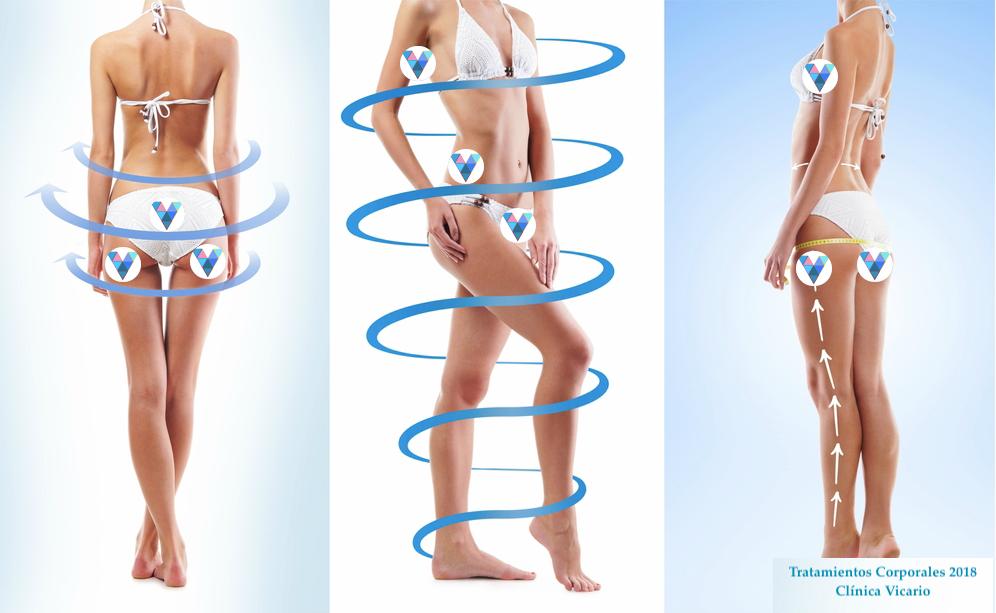 Fotografia Tratamientos corporales Clínica Vicario