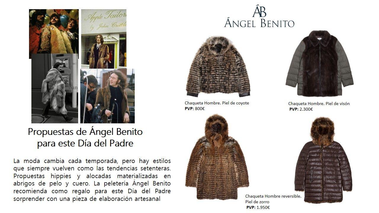 Fotografia Propuestas de Ángel Benito para el Día del Padre