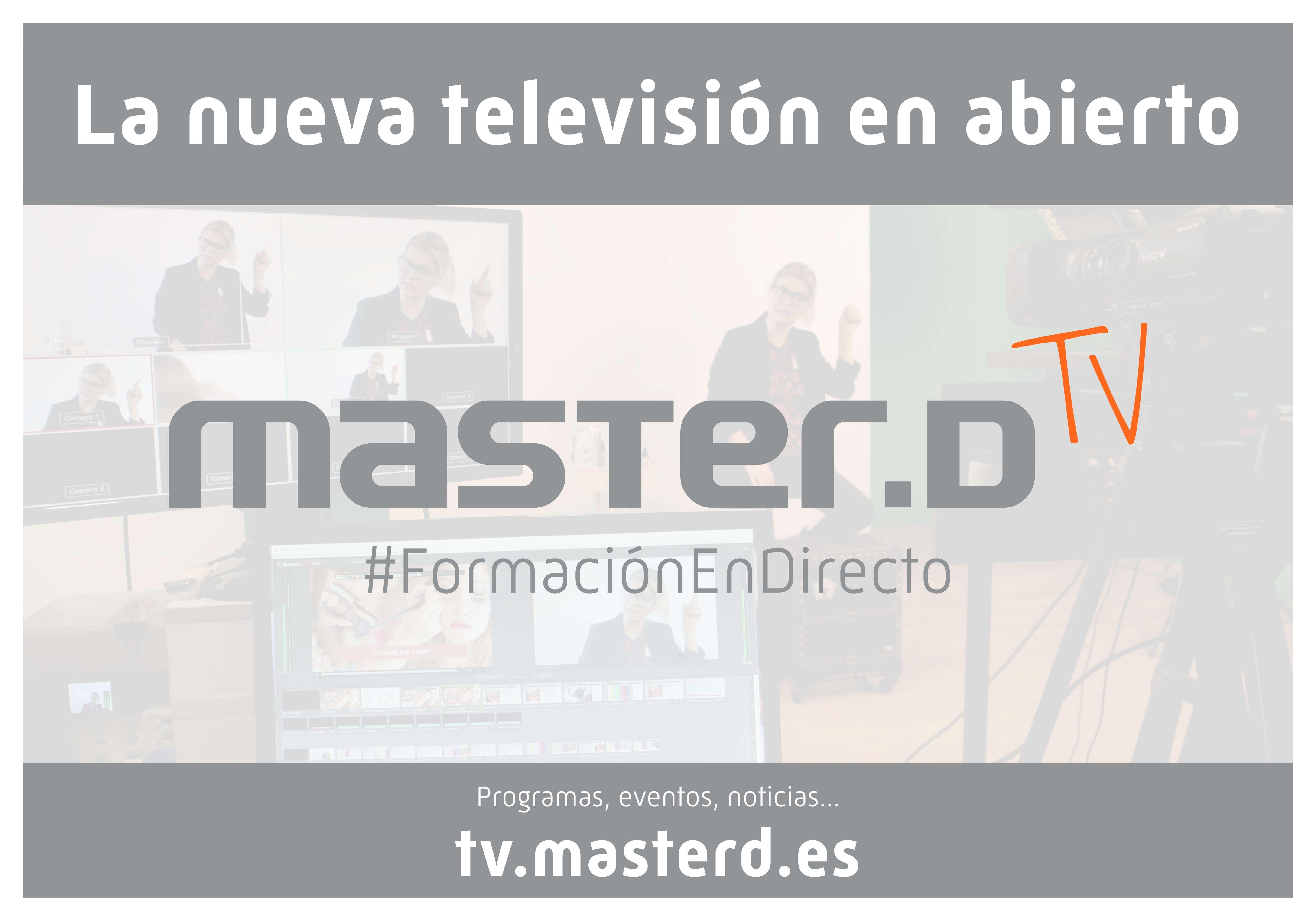Fotografia Televisión Educativa de MasterD