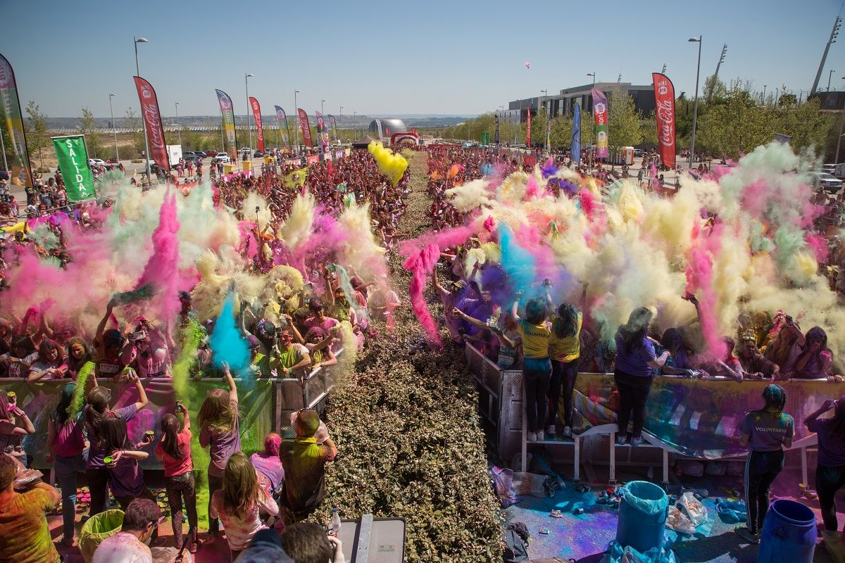 Fotografia Holi Life Madrid 8th Edition 15-04-18