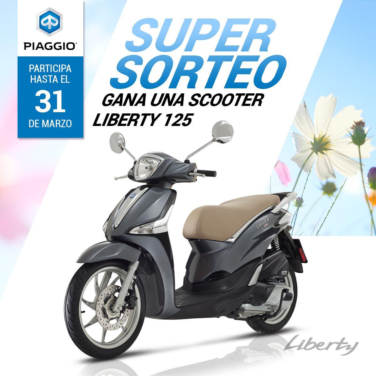 Fotografia Sorteo de una scooter Piaggio Liberty 125