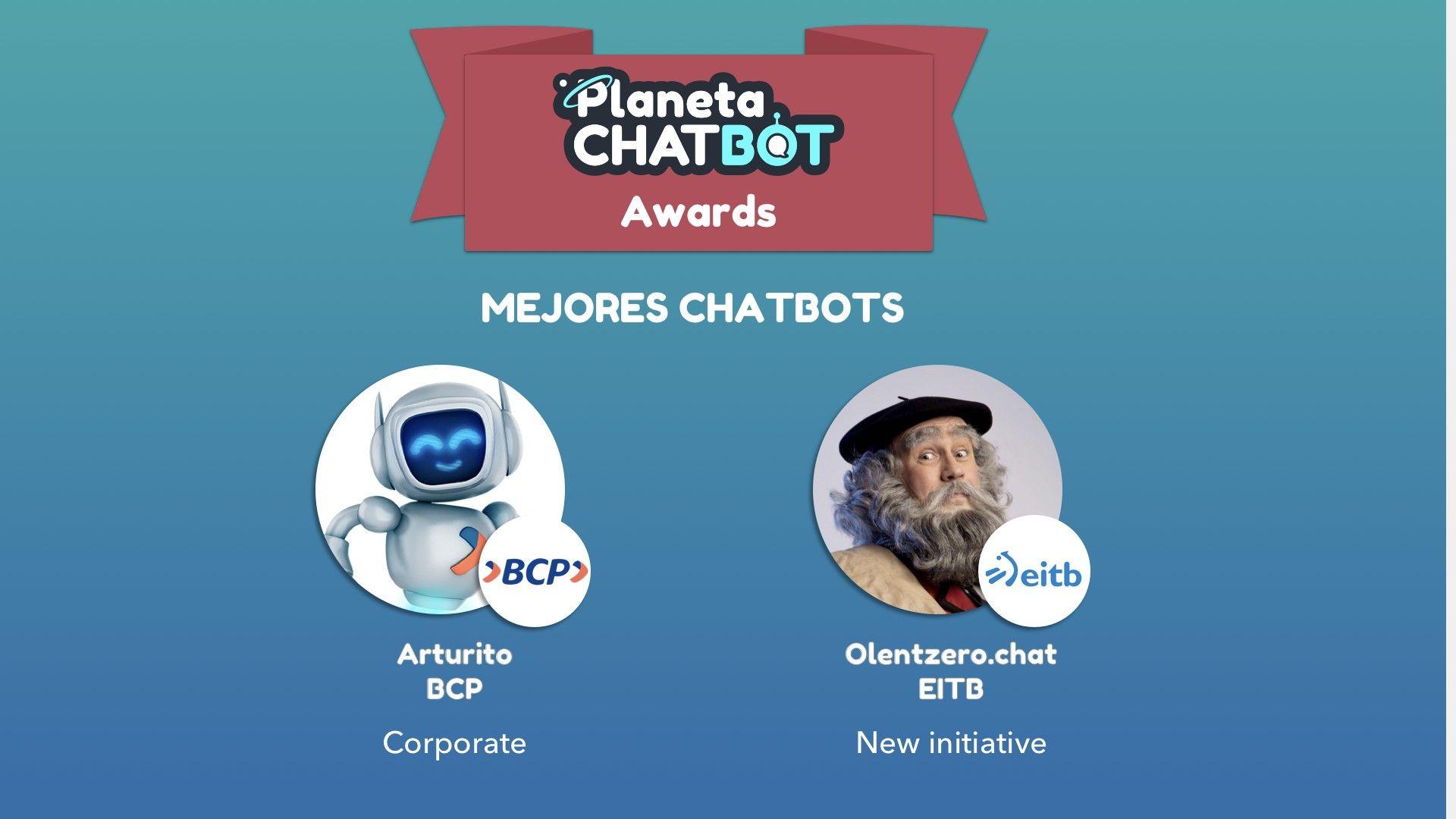 Los Planeta Chatbot Awards ya tienen ganadores