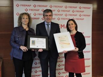 Fotografía del acto de entrega de Sello de Excelencia Europea 500+ a