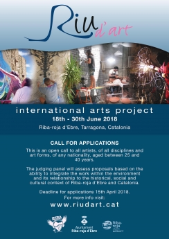 Riu d'Art, Internacional Arts Project