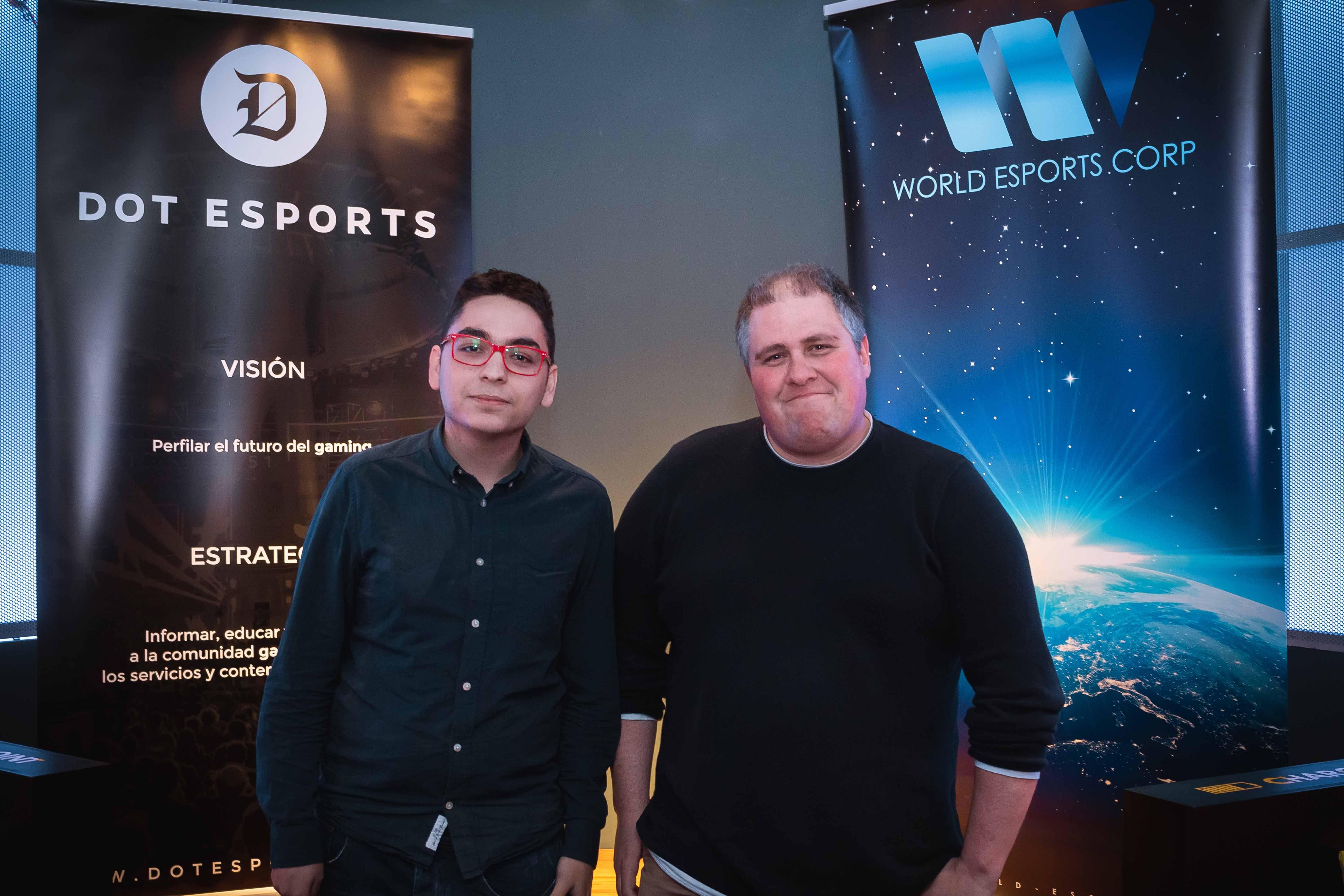 Fotografia Presentación de Dot eSports