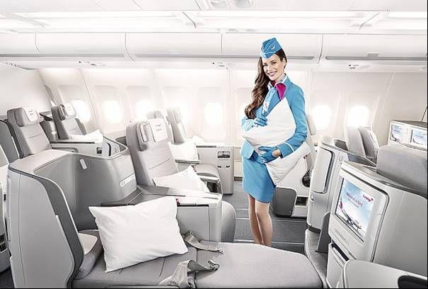 Eurowings presenta un novedoso servicio de alta cocina para vuelos de larga distancia