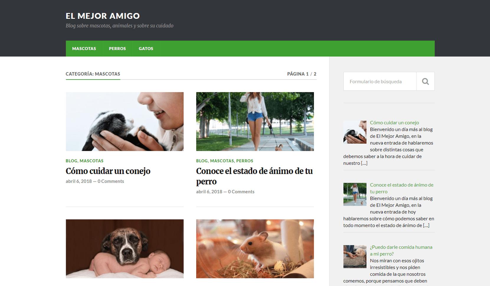 Elmejoramigo.es: nuevo blog de consejos para mascotas