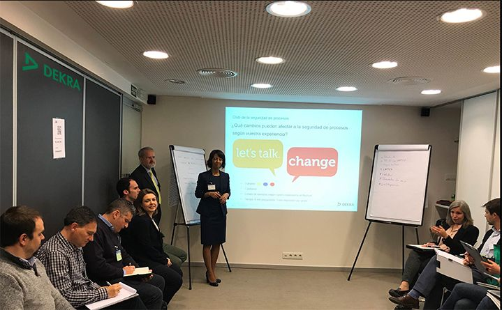 DEKRA inaugura su proyecto de encuentros con clientes con su workshop en seguridad de procesos