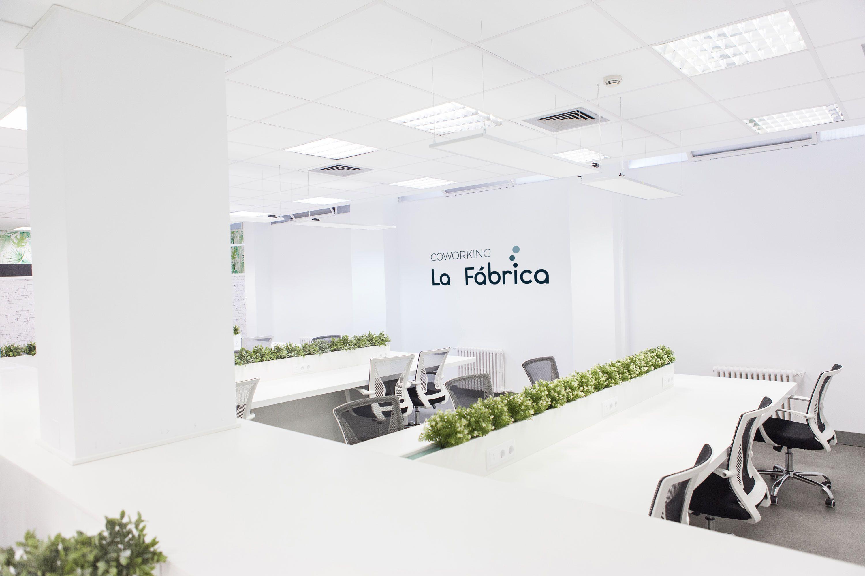 coworking fábrica madrid espacios trabajo espacio