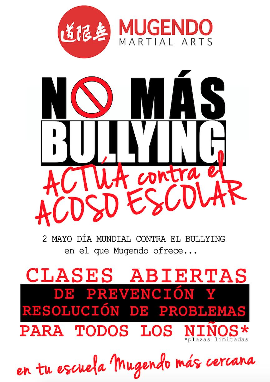 El sector marcial refuerza la lucha contra el acoso escolar y el Bullying ante el aumento de vi?ctimas