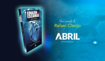 'Corazón de Escamas', del joven escritor Rafael Clavijo