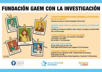 Cartel actividades Fundación GAEM Día Mundial EM
