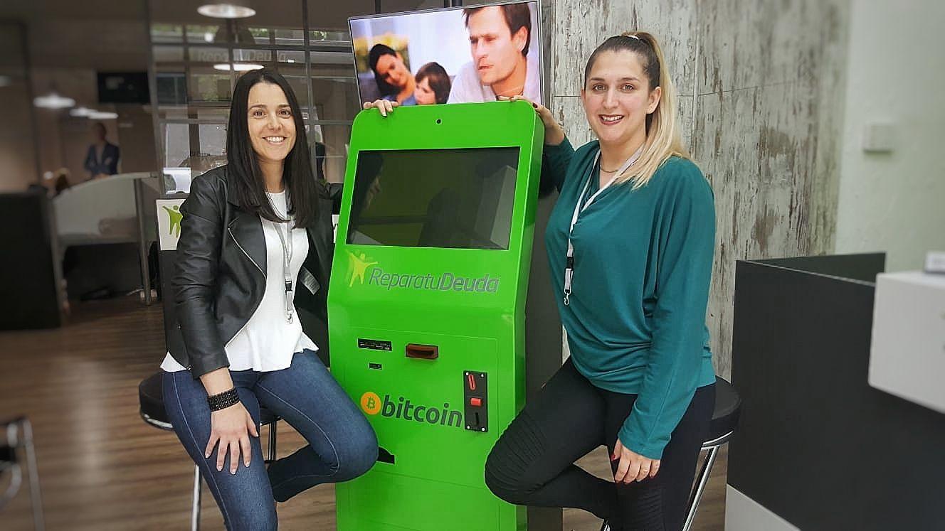 Repara tu Deuda instala cajeros Bitcoin en sus oficinas