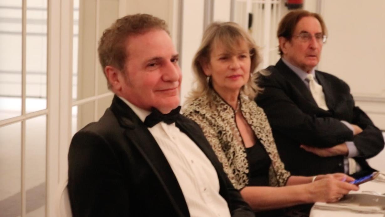 Fotografia Dr. Alberto Lajo en la cena de gala de la I.A C.S.R.C