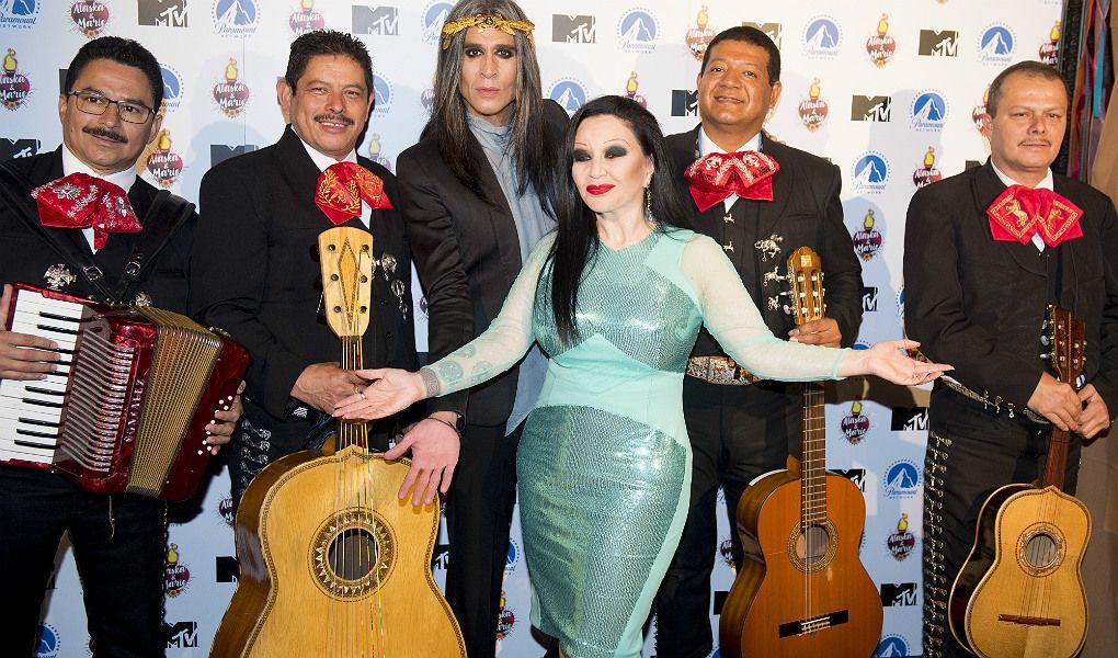 Fotografia Rueda de prensa Alaska & Mario