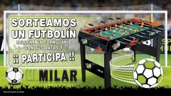 Milar Galicia sortea un futbolín