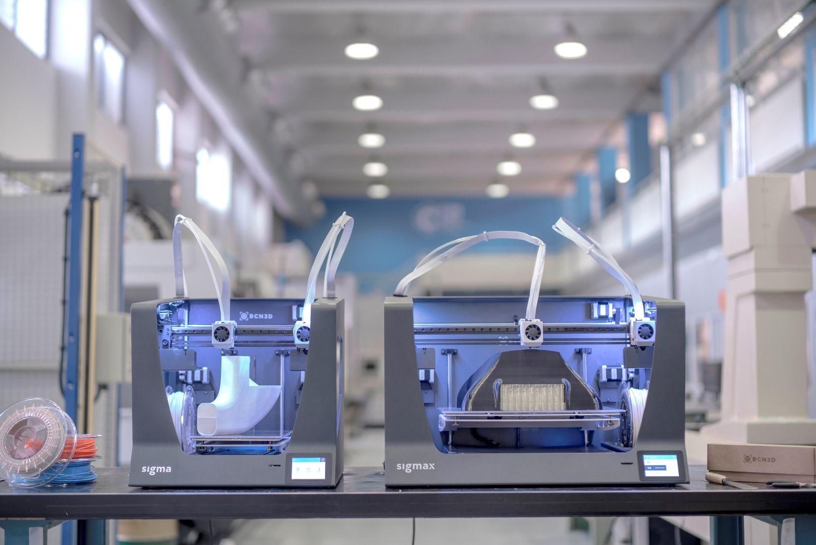 Fotografia Impresoras 3D Sigma y SigmaX de BCN3D