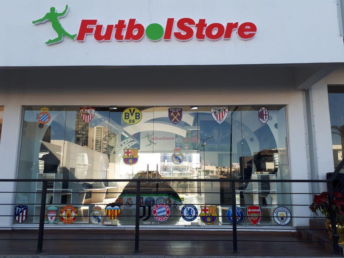 Fotografia Tienda FutbolStore en México