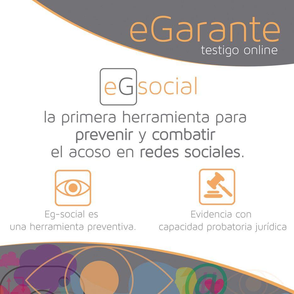 eGarante presenta eG-Social, la primera herramienta para prevenir y combatir el acoso en redes sociales
